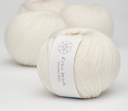 Organic Wool 1  50g - nr 01