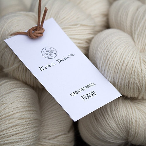 Raw organisk  wool1 100g