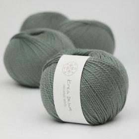 Ny version - Wool 1 nr 33 Støvet grøn