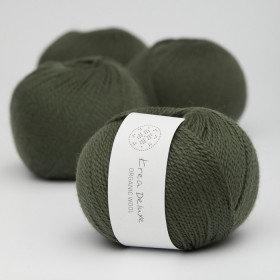 Ny version - Wool 1 nr 36 Mørkegrøn