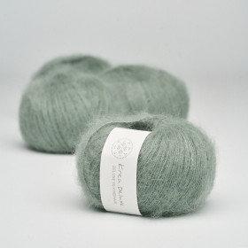 Silk Mohair - nr 33 Støvet grøn