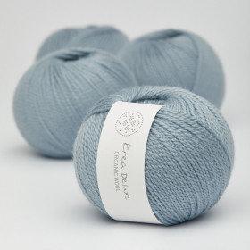 Ny version - Wool 1 nr 25 Støvet Lyseblå