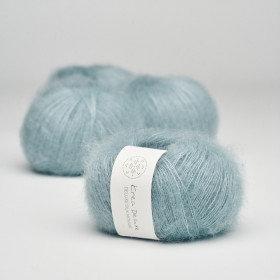 Silk Mohair nr 25 støvet lyseblå