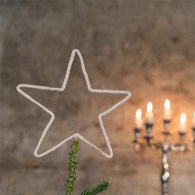 Stjerner - topstjerne - Hækleopskrift