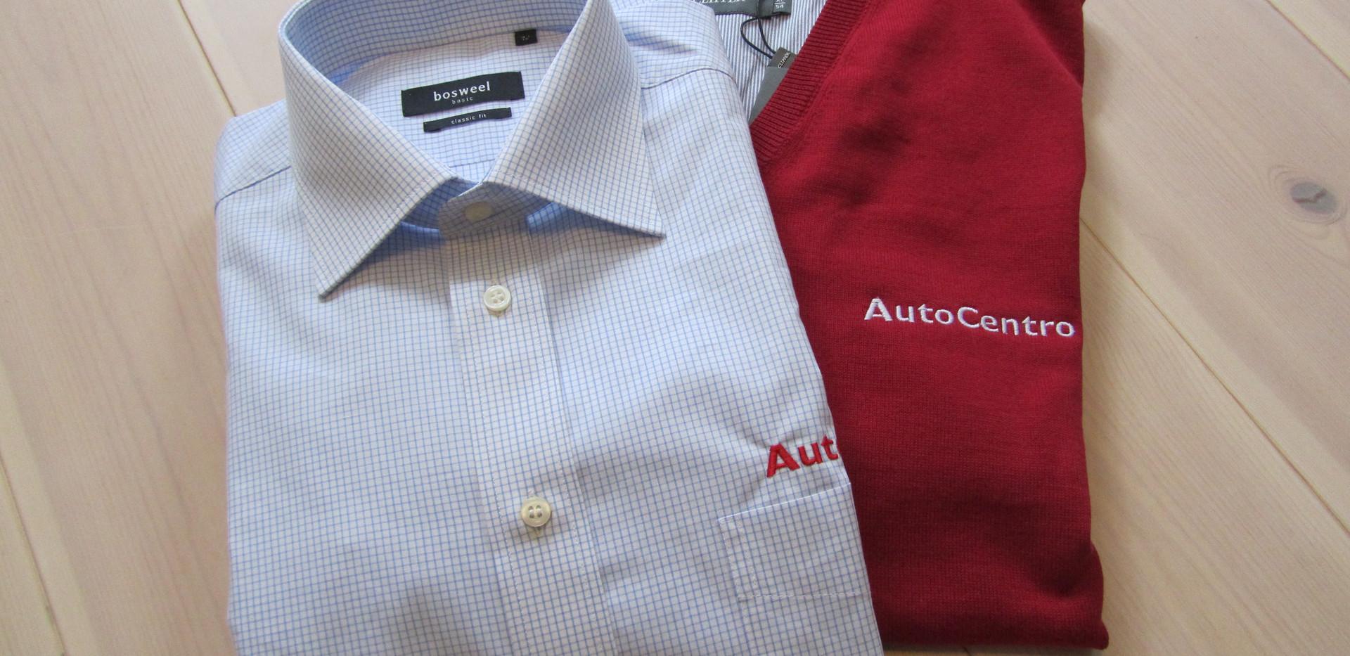 Skjorte og pullover