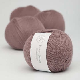 Ny version - Wool 1 nr 16 Mørk Gammelrosa