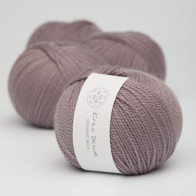 Ny version - Wool 1 nr 44 Støvet Lavendel