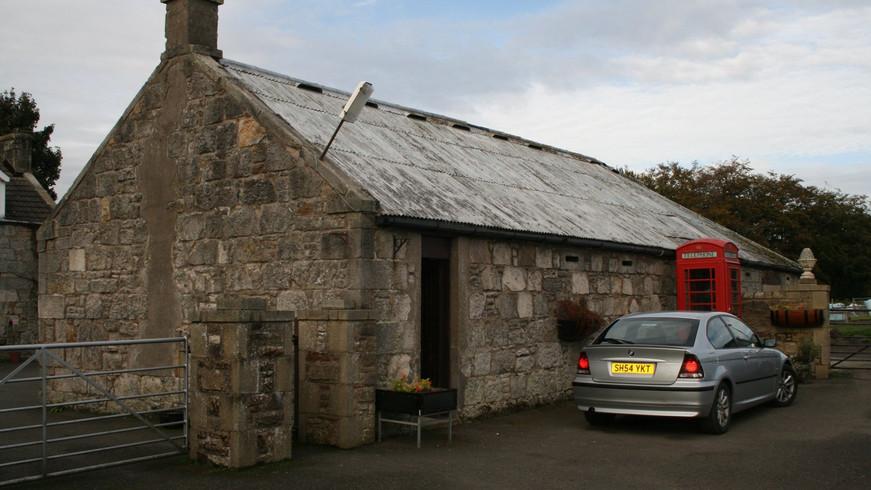 Chapelhall barn conversion - before