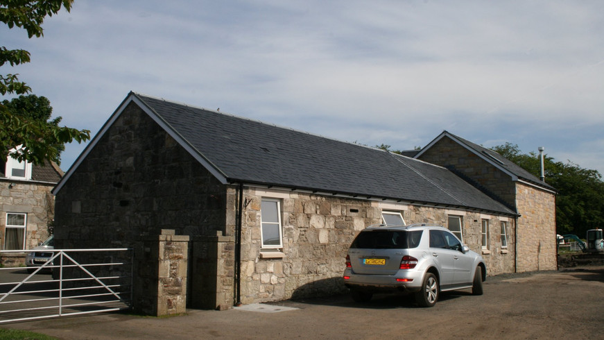 Chapelhall barn conversion - after
