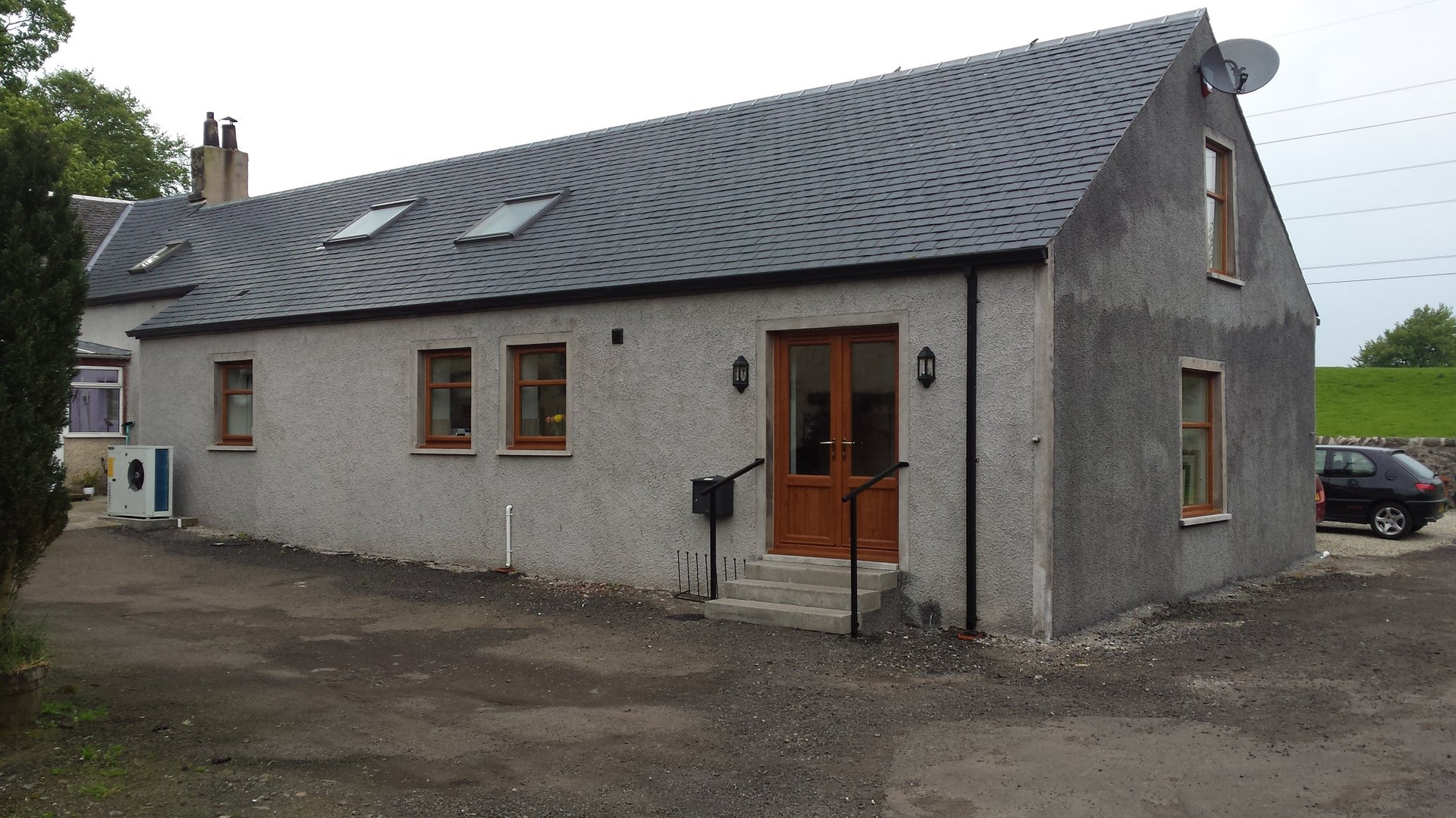 Kilbarchan barn conversion - after