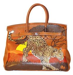 Hermes Birkin Leopard Savanah