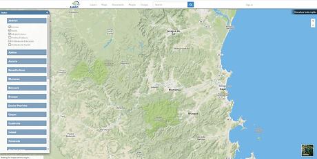 Welcome! - mapas.ammvi.org.br - Mozilla