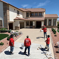 Brilliant Epoxy Floors - Driveway Installation