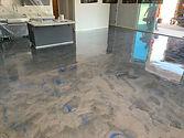 Brilliant Epoxy Metallic Floor Coatings