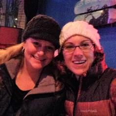 Me & Lorraine at the Hero