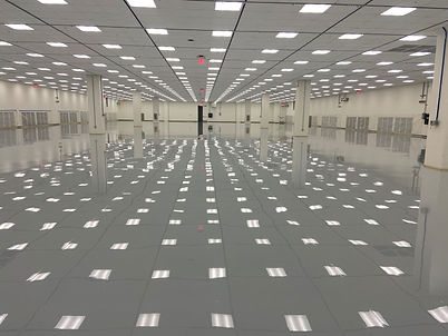 Brilliant Epoxy Iron Mountain Data Center