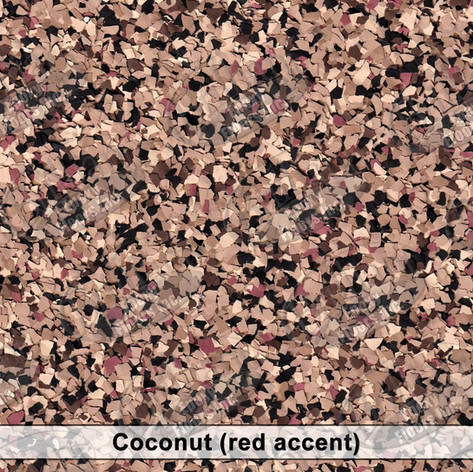 Coconut (red accent)