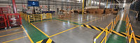 Brilliant Epoxy Diamler warehouse