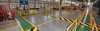 Warehouse Striping Epoxy Floor Phoenix