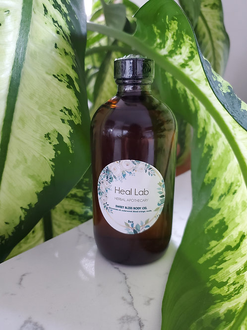 SWEET BLISS BODY OIL 8oz