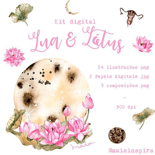 Kit digital Lua e Lótus