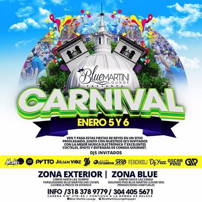 Blue Martin Carnival