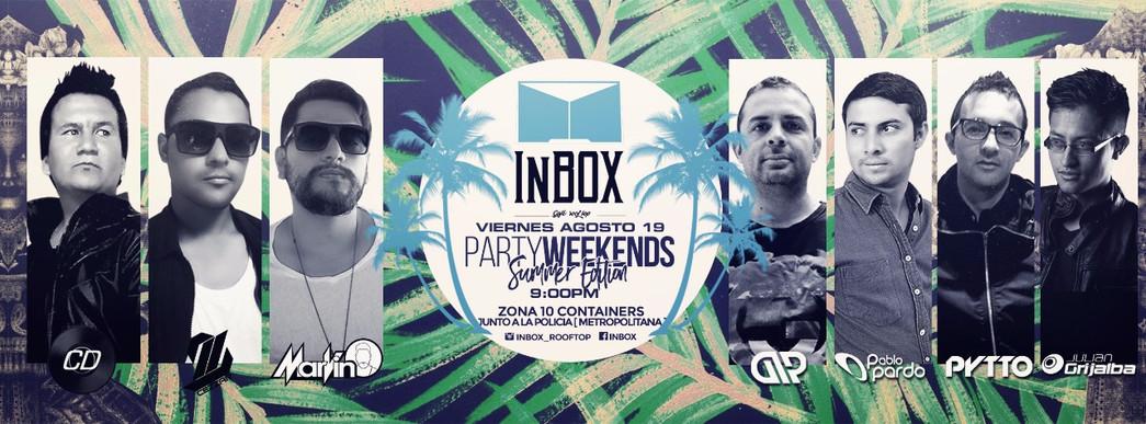 Inbox - Party Weekends