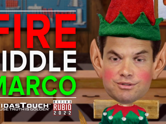 "MeidasTouch and Retire Rubio Unveil New Hard-Hitting Holiday Ad ""Fire Liddle Marco the Elf"""