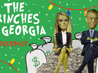 """""""Grinches of Georgia"""" Animated TV Ad Released By MeidasTouch For Special Election"""