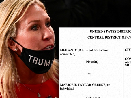 MeidasTouch Sues Marjorie Taylor Greene for First Amendment Violations