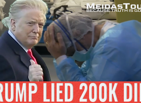 New Video: 'Trump Lied, 200K Died'
