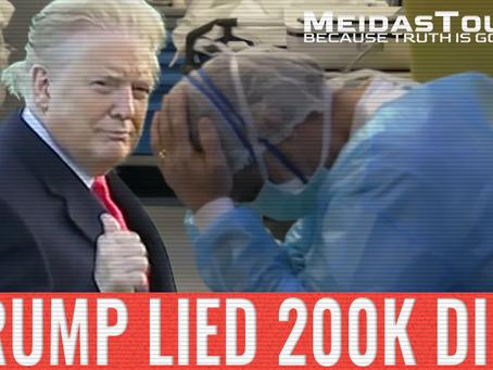 New Video: 'Trump Lied, 200K Died'