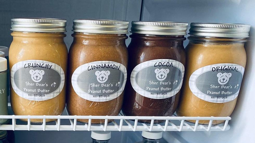 Sher Bear's Homemade Peanut Butter