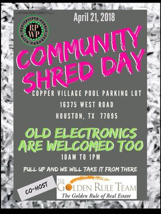 Community Shred Day 2018