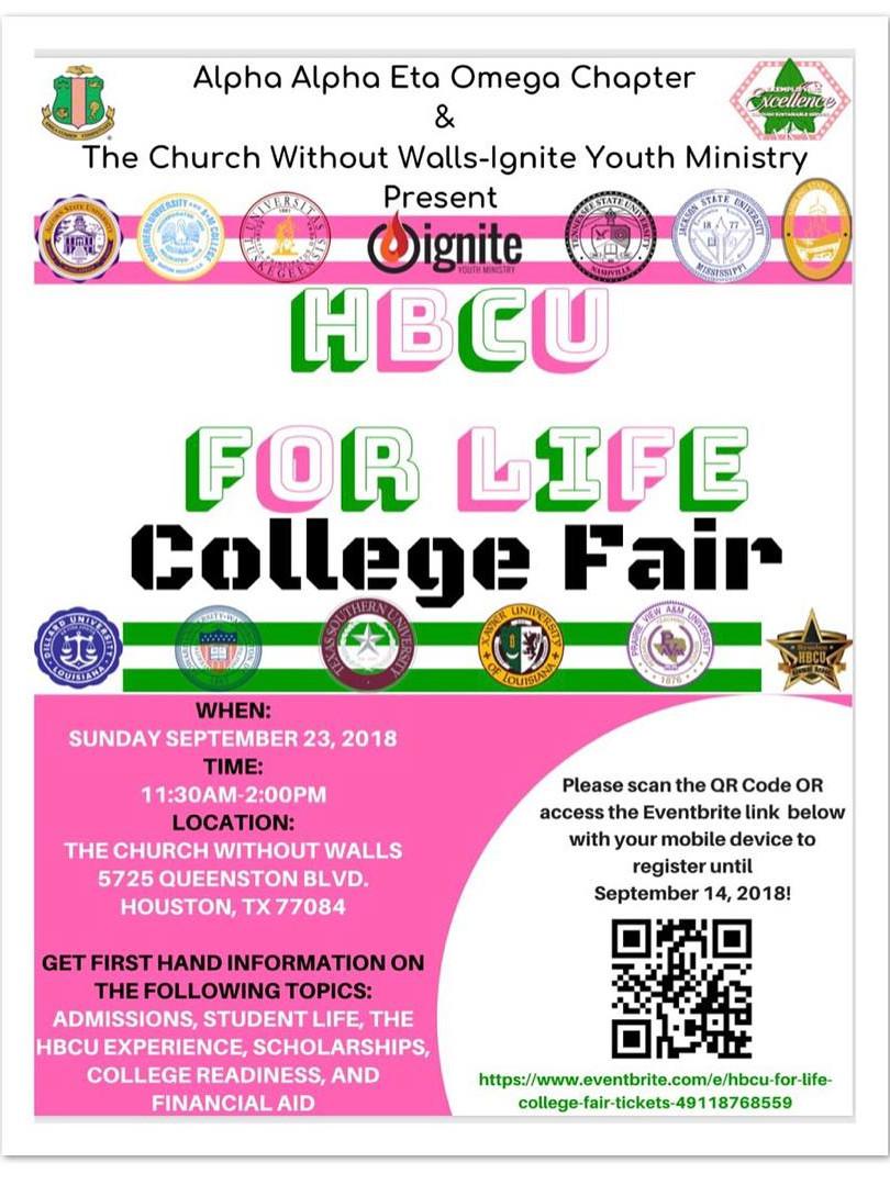 HBCU for Life College Fair