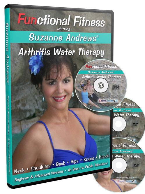 Arthritis Water Therapy DVD- CD Booklet Kit