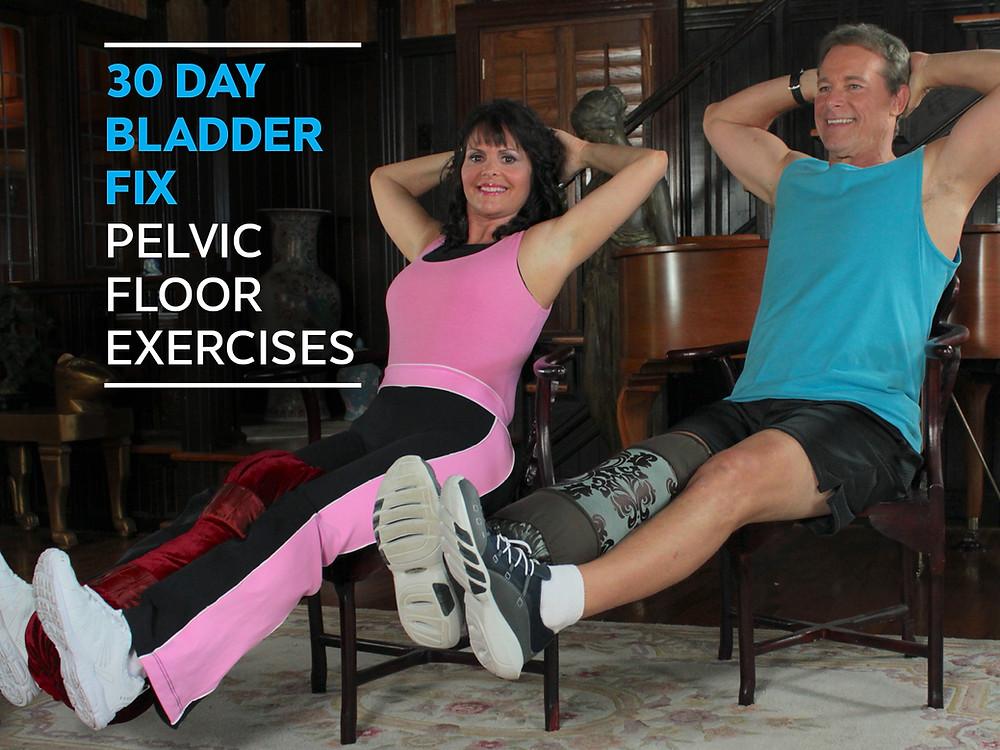 pelvic floor exercises for men, pelvic floor exercises for women