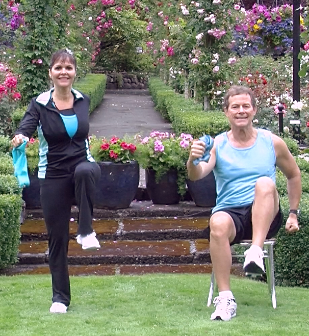 Arthritis Walking Workout- chair exercises