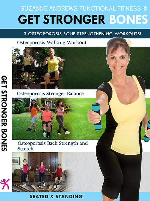 Get Stronger Bones for Osteoporosis
