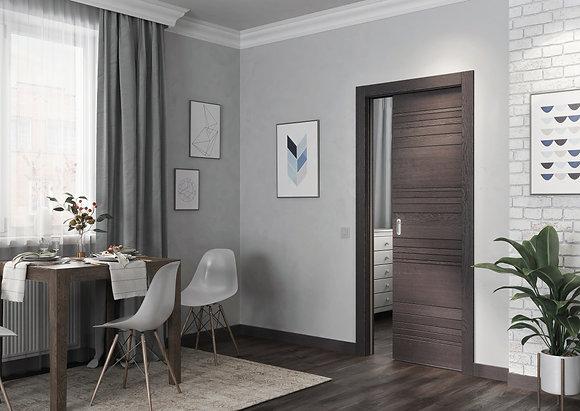 Unico doors. Дверь-пенал.