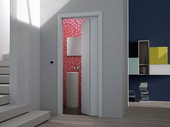 Eclisse.  Пенал Novanta для секционной двери, состоящей из раздвижной и распашно