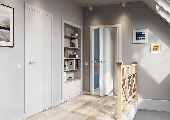 Unico doors. Дверь-книжка.Classic.