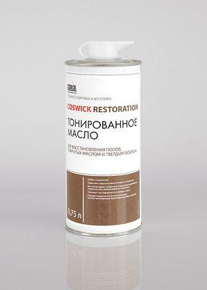 Сoswick. Тонированное масло для восстановления полов, покрытых маслом.
