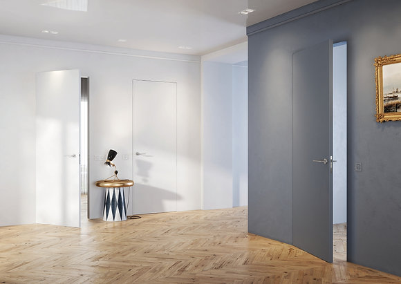Unico doors.Скрытый короб.