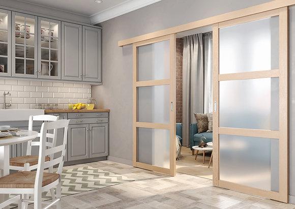 Unico doors. Перегородки.