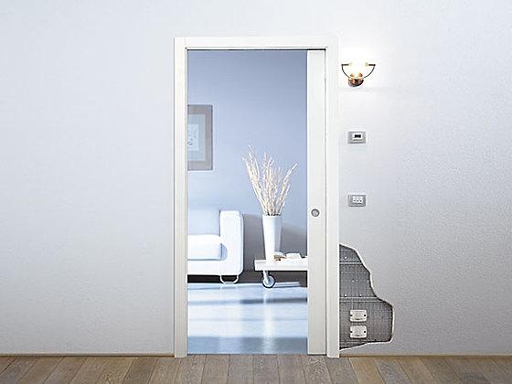 Eclisse. Пенал Luce для одностворчатой раздвижной двери