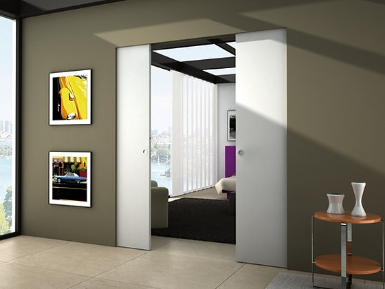 Eclisse. Пенал Syntesis Line Double - для двухстворчатой раздвижной двери