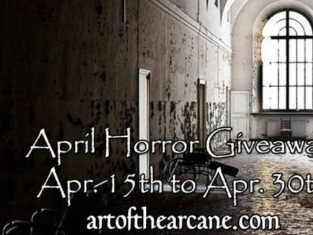 Art of the Arcane Horror & Mystery Giveaway!