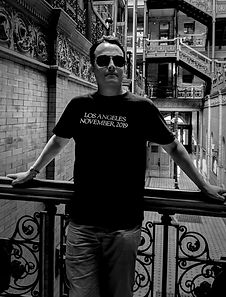 Leighton Dean at the Bradbury Building November 2019