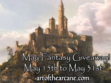 Art of the Arcane SciFi & Fantasy Giveaway